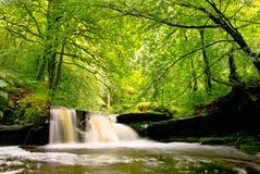 Vattenfall i Lancashire arkivfoto