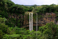 Vattenfall i Mauritius Royaltyfri Foto