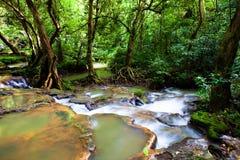 Vattenfall i nationalparken Royaltyfri Foto