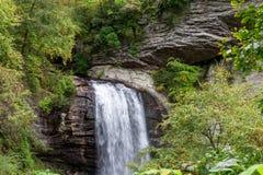 Vattenfall i NC Royaltyfri Fotografi