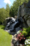 Vattenfall i New England Arkivbild