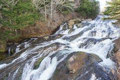 Vattenfall i Nikko Japan Arkivfoton