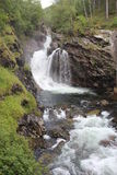 Vattenfall i Norge Arkivbilder