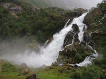 Vattenfall i Norge Arkivfoto