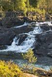 Vattenfall i Norge Fotografering för Bildbyråer