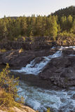 Vattenfall i Norge Royaltyfri Bild