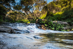 Vattenfall i NSW/AUSTRALIA royaltyfria bilder