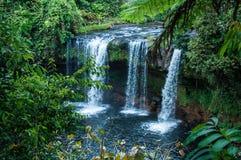 Vattenfall i Pakse Royaltyfria Bilder