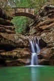 Vattenfall i paradis Arkivfoto