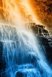 Vattenfall i park2en Fotografering för Bildbyråer