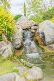 Vattenfall i parkera Arkivfoton