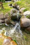 Vattenfall i parkera Fotografering för Bildbyråer