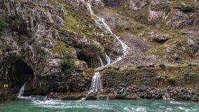Vattenfall i Picos de Europa Royaltyfria Bilder