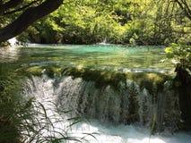 Vattenfall i Plitvice Royaltyfria Foton