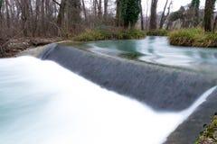 Vattenfall i San Daniele royaltyfri bild