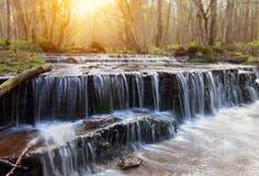 Vattenfall i Sverige royaltyfria foton