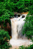 Vattenfall i Thailand. Arkivfoton