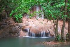 Vattenfall i Thailand Fotografering för Bildbyråer