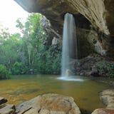 Vattenfall i Ubon Ratchathani Thailand Royaltyfria Foton