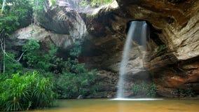 Vattenfall i Ubon Ratchathani Thailand Royaltyfri Foto