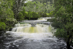 Vattenfall i vaggaberg Royaltyfria Bilder