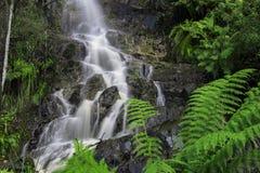Vattenfall i vaggaberg Arkivfoto