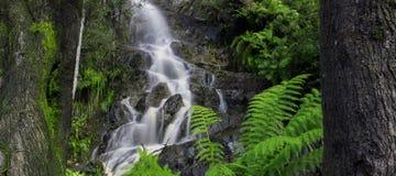 Vattenfall i vaggaberg Royaltyfri Bild