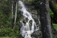 Vattenfall i vaggaberg Arkivbilder