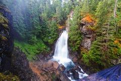 Vattenfall i Vancouver arkivfoto