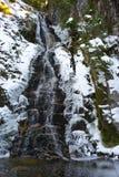 Vattenfall i vinter Royaltyfri Bild