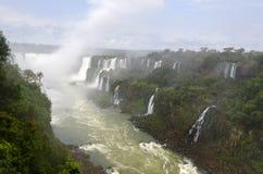 Vattenfall Iguacu Fotografering för Bildbyråer