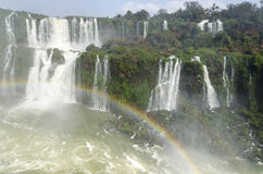 Vattenfall Iguacu Royaltyfri Foto