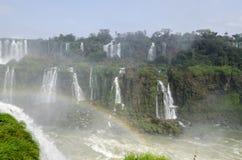 Vattenfall Iguacu Royaltyfri Fotografi