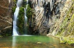 Vattenfall kokkärlen, Bulgarien Royaltyfria Foton