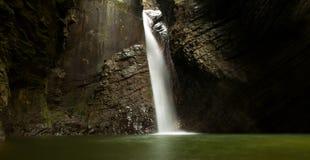 Vattenfall Kozjak Fotografering för Bildbyråer