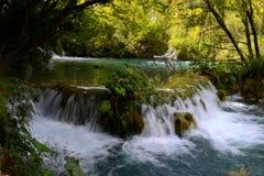 Vattenfall Kroatien fotografering för bildbyråer