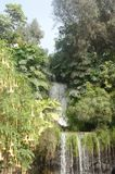 Vattenfall Lima, Peru royaltyfria bilder