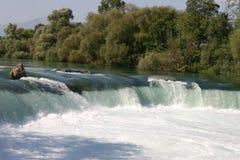 Vattenfall Manavgat Fotografering för Bildbyråer