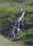 Vattenfall nära Jochpassen Royaltyfria Foton