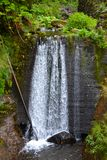 Vattenfall på ön av madeiran, Portugal Royaltyfri Foto