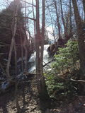 Vattenfall på Blue1 Arkivfoto