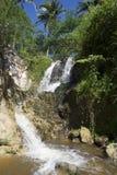 Vattenfall på The Creek feer Phan Thiet, Vietnam Arkivfoton