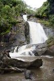 Vattenfall på den Nyika platån Royaltyfria Foton