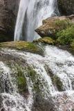 Vattenfall på floden Fotografering för Bildbyråer