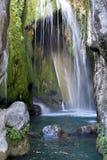 Vattenfall på Fuentes del Algar Royaltyfria Bilder
