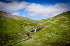 Vattenfall på Island Royaltyfri Foto