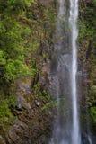 Vattenfall på Kauai Arkivfoto