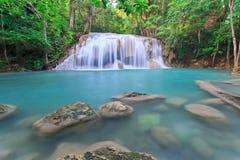 Vattenfall på nationalparken i Thailand Royaltyfri Foto