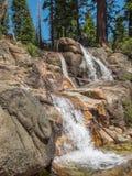 Vattenfall på Shirley Creek Royaltyfri Foto