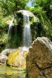 Vattenfall på Soroa i västra Kuba arkivbild